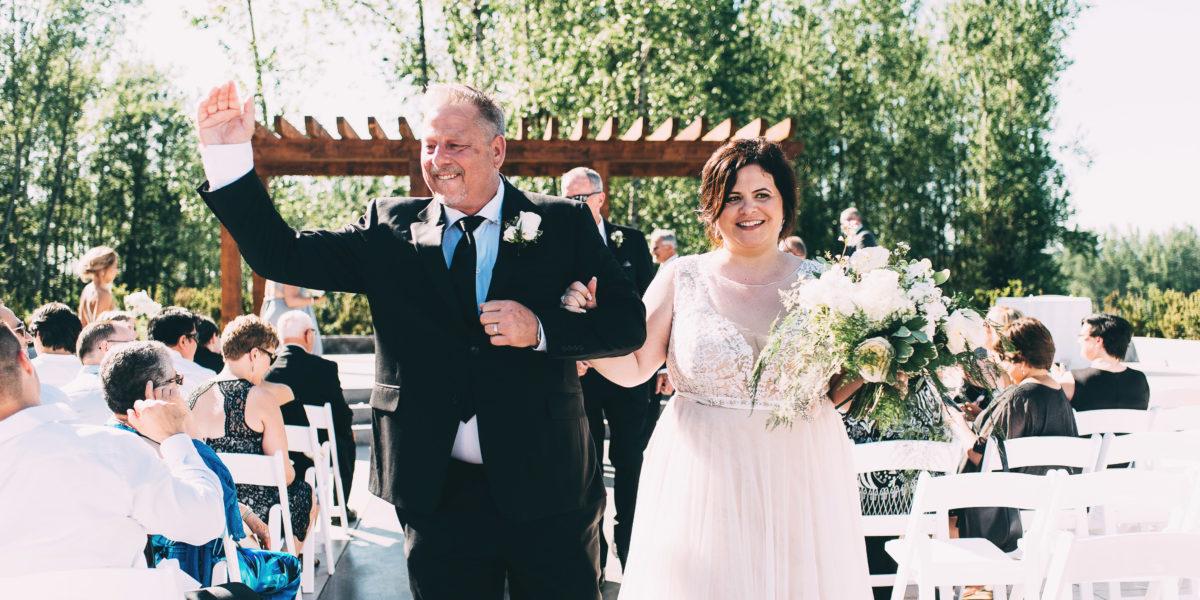 Redwoods Gold Course Langley Wedding - Al & Nancy