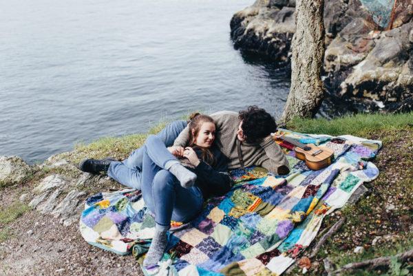 Whytecliff Park Engagement - Eli & Phay
